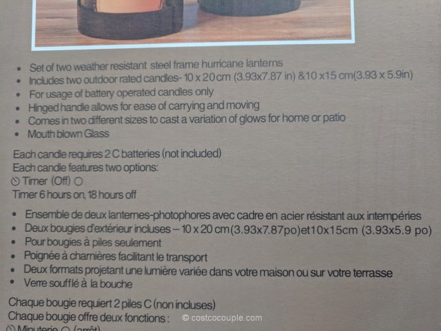 Outdoor Hurricane Lanterns Costco