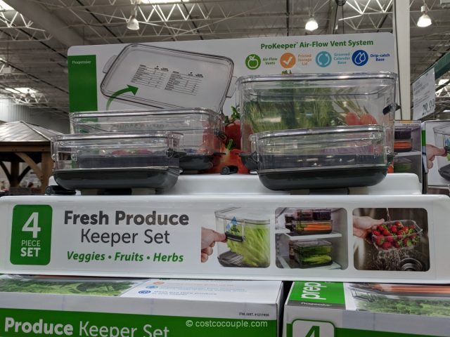 Progressive ProKeeper Produce Keeper Set Costco