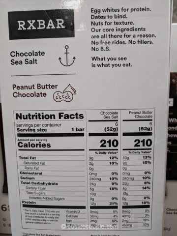 RXBar Protein Bars Costco