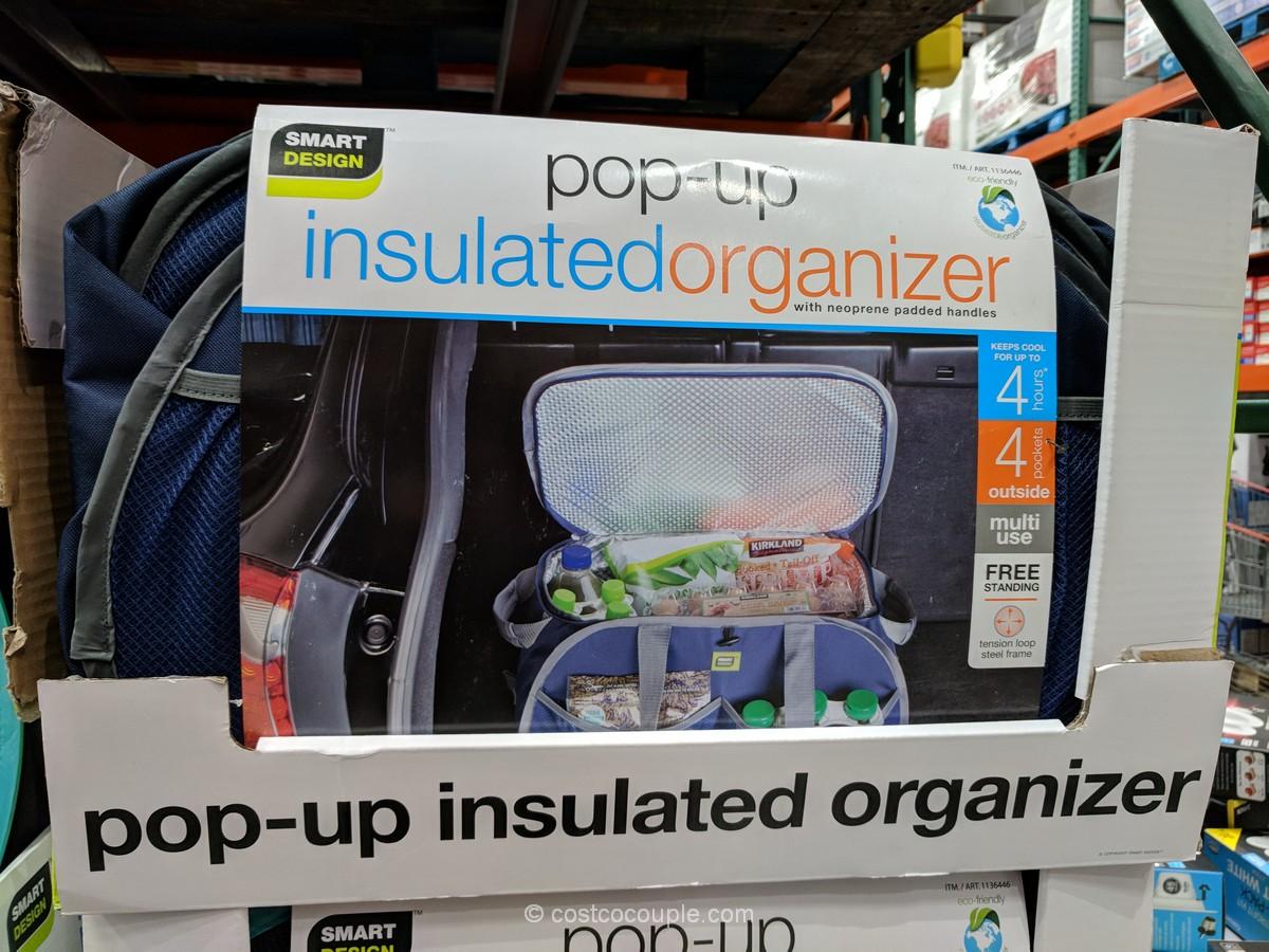 Smart Design Insulated Pop Up Organizer