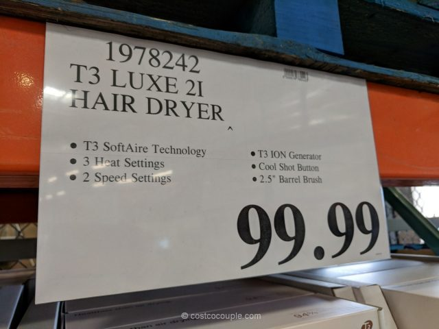 T3 Featherweight Luxe 2i Hair Dryer Costco