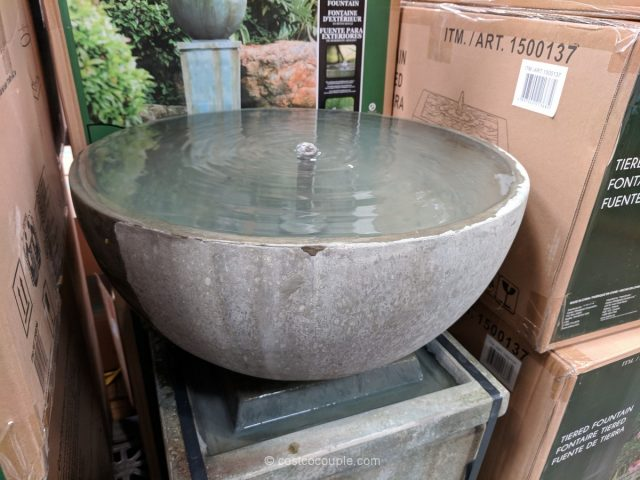 Zen Bowl Outdoor Fountain Costco
