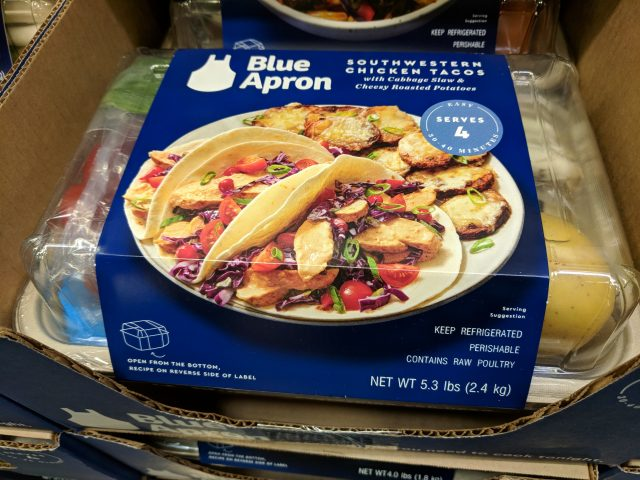 Blue Apron Meal Kit Southwestern Chicken Tacos Costco