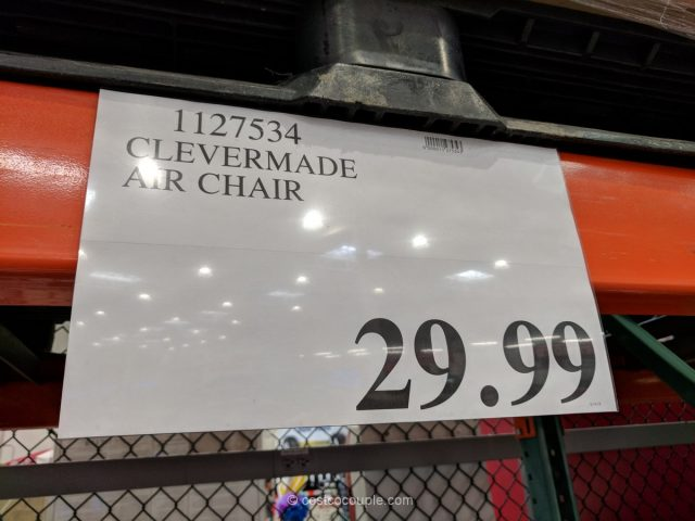 Clevermade Quickfill Air Chair Costco