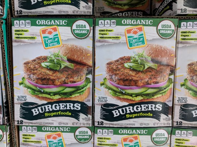Don Lee Farms Organic Superfood Burgers Costco
