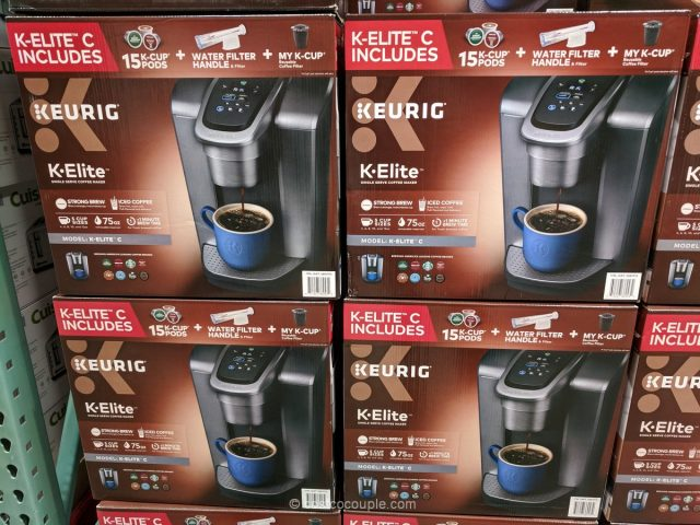 Keurig K-Elite C Coffee Maker Costco