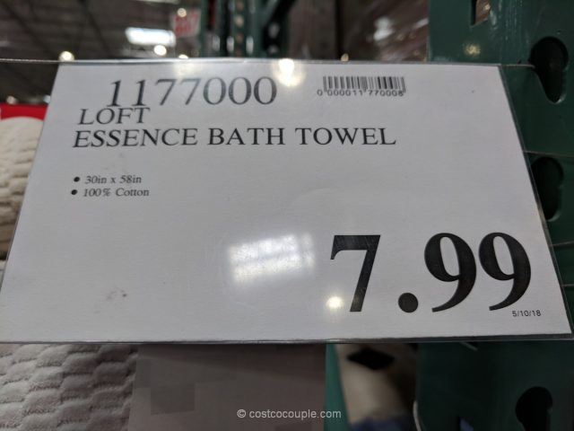 Loft Essence Bath Towel Costco