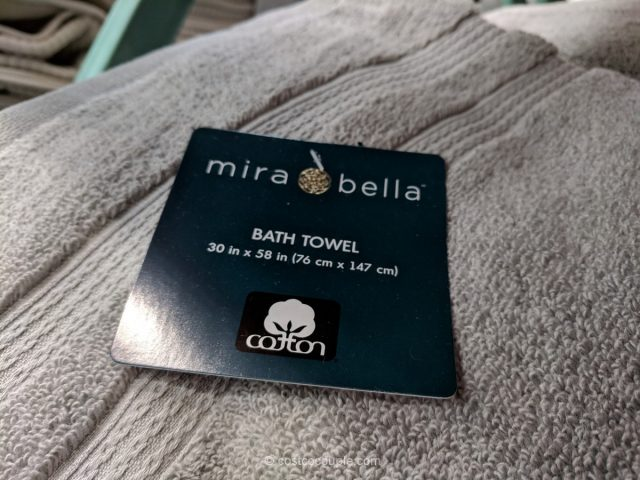 Mira Bella Bath Towel Costco