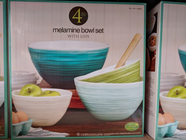 Pandex Melamine Bowl Set Costco