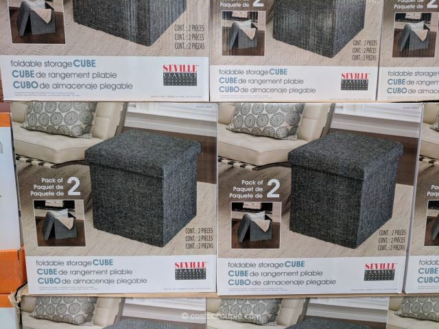 Seville Classics Storage Cube Costco