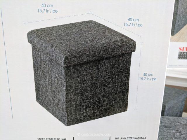 Seville Classics Storage Cube