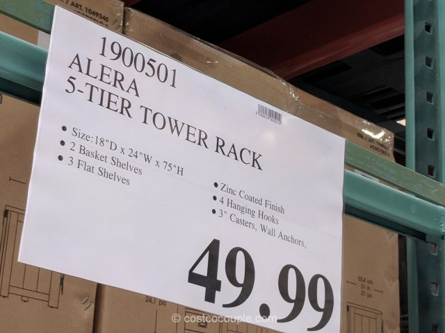 Alera 5-Shelf Tower Rack Costco