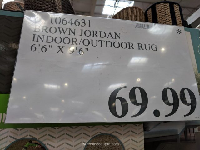 Brown Jordan Indoor Outdoor Rug Costco