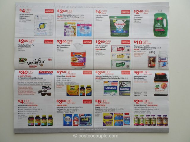 Costco July 2018 Coupon Book 06/28/18 to 07/29/18