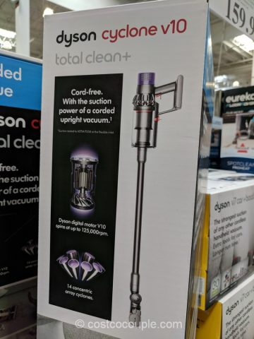 dyson cyclone v10 total clean cord free stick vacuum. Black Bedroom Furniture Sets. Home Design Ideas
