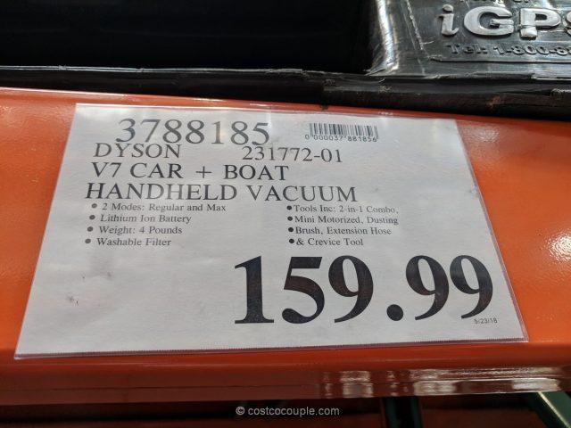Dyson v7 Car + Boat Handheld Vacuum Costco