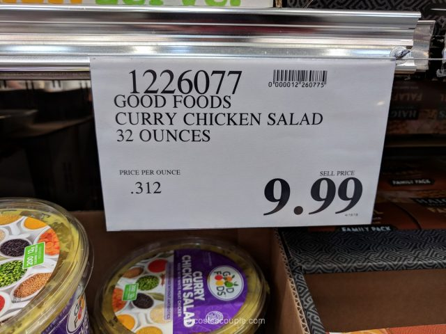 Good Foods Curry Chicken Salad Costco