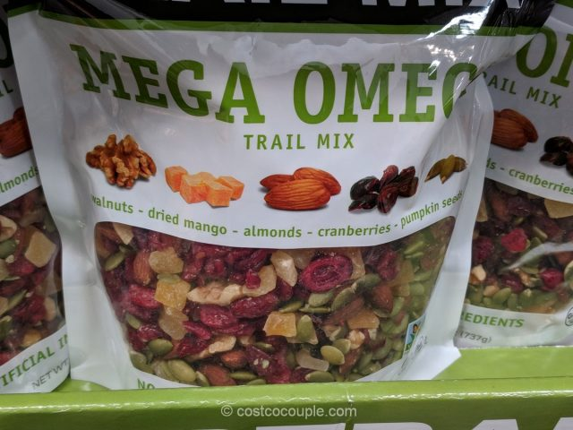 Gourmet Nut Mega Omega Trail Mix Costco