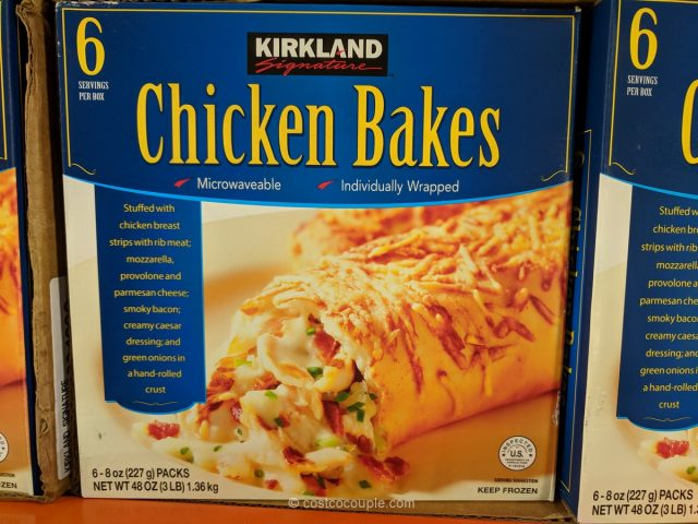 Kirkland Signature Chicken Bakes Costco