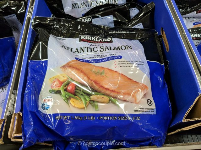 Kirkland Signature Farmed Atlantic Salmon Costco
