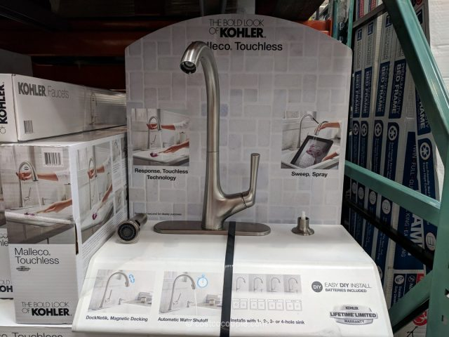 Kohler Malleco Touchless Pull-Down Kitchen Faucet Costco
