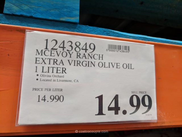 McEvoy Ranch Extra Virgin Olive Oil Costco
