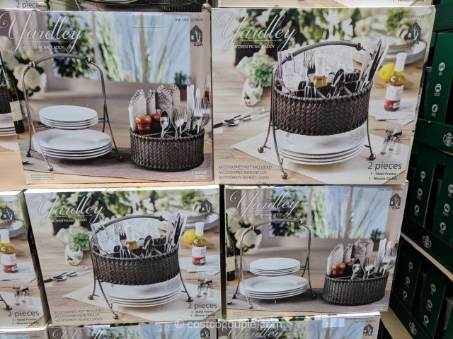Mesa Woven Picnic Caddy Costco