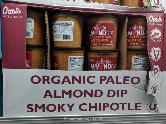 Oasis Organic Paleo Chipotle Almond Dip Costco