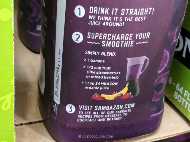 Sambazon Organic Acai Juice Costco