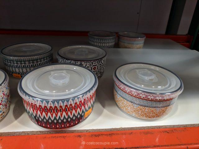 Signature Housewares Stoneware Storage Bowls