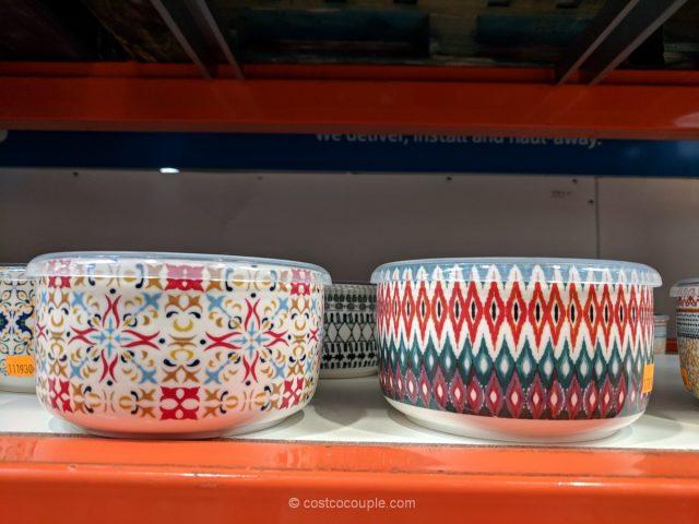 Signature Housewares Stoneware Storage Bowls Costco