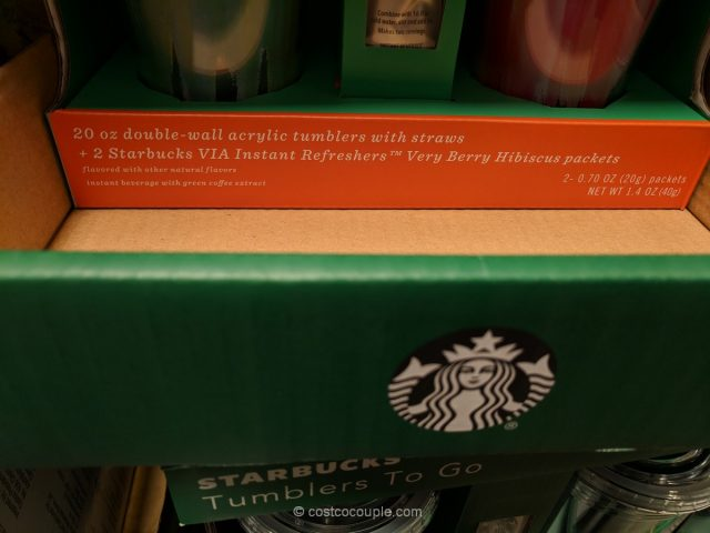 Starbucks Acrylic Tumber Set Costco