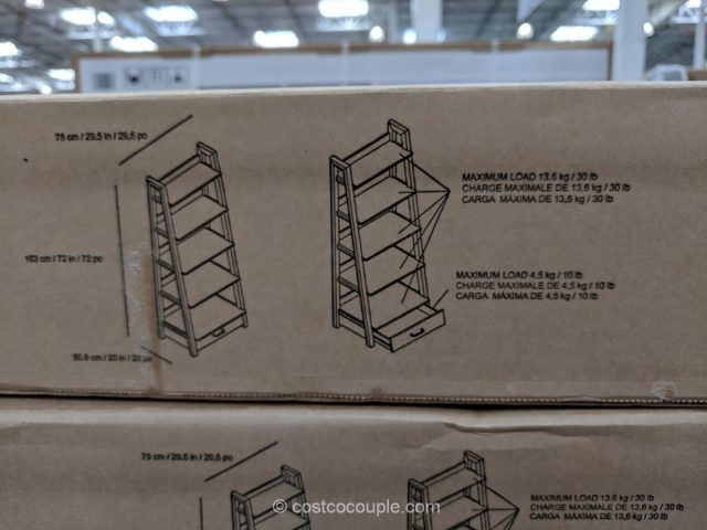 72-Inch Ladder Bookcase Costco