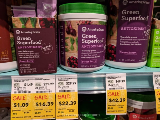 Amazing Grass Green Superfood Whole Foods