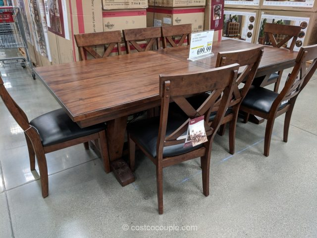 Bayside Furnishings 9-Piece Dining Set
