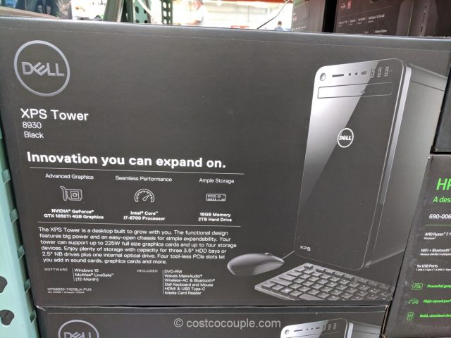 Dell XPS8930 Desktop Computer Costco
