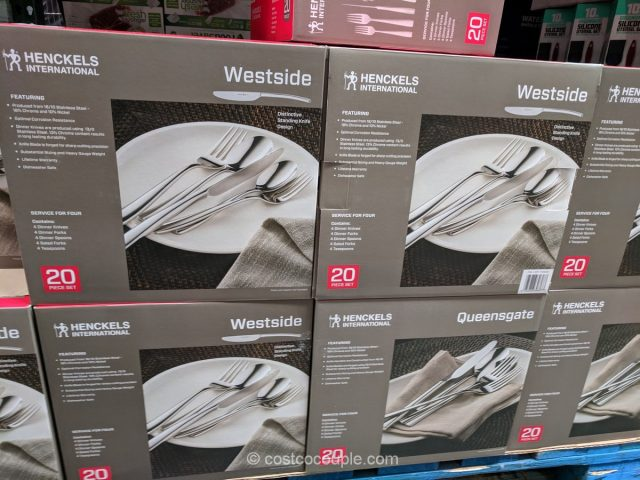 Henckels International Westside Flatware Set Costco