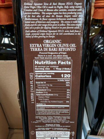 Kirkland Signature Organic Extra Virgin Olive Oil Costco