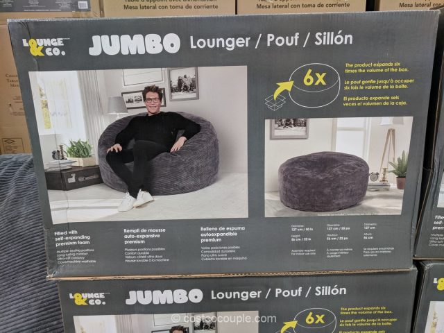 Lounge Amp Co Jumbo Lounger