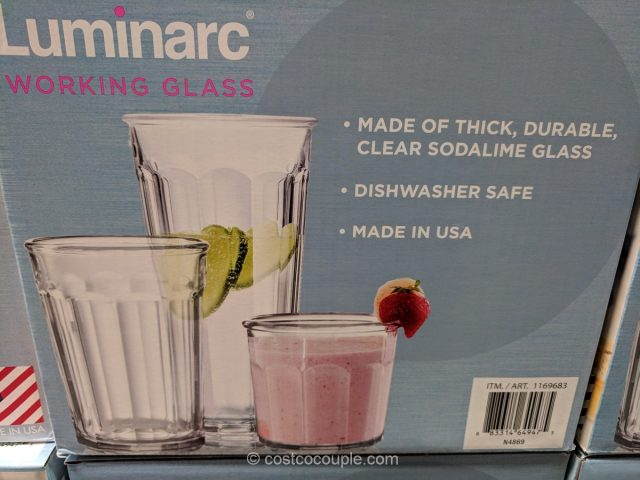Luminarc Working Glass Set Costco