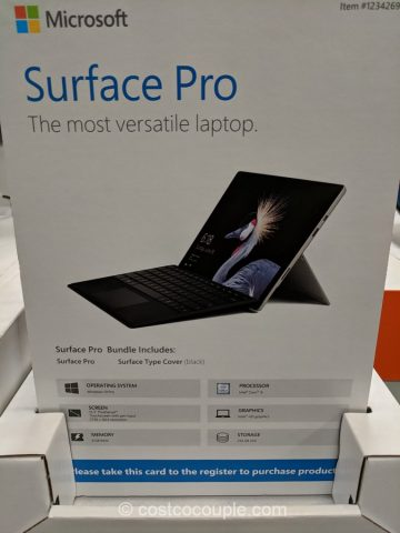 Microsoft Surface Pro Bundle Costco