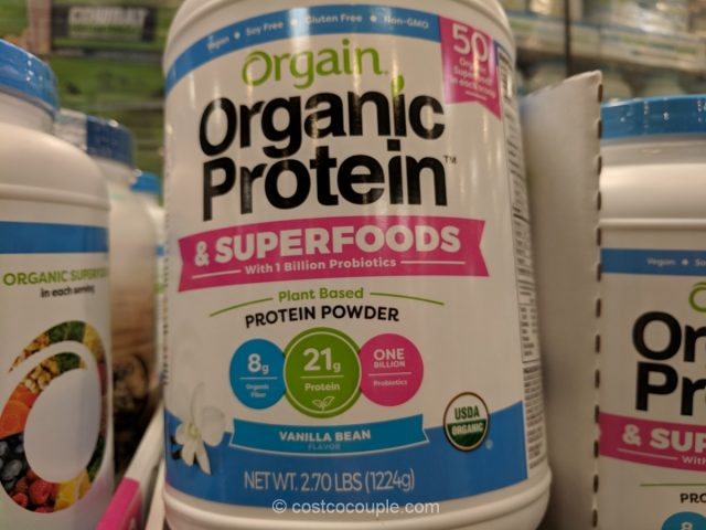 Orgain Organic Protein and Superfoods Costco