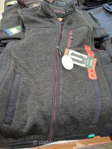 Orvis Mens Sweater Fleece Vest Costco