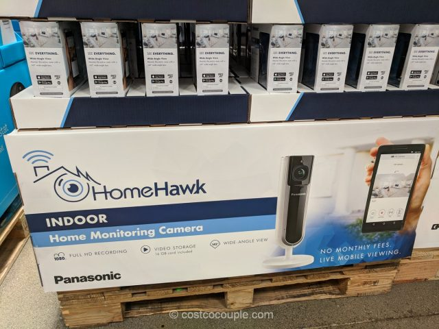 Panasonic HomeHawk indoor Home Monitoring Camera Costco