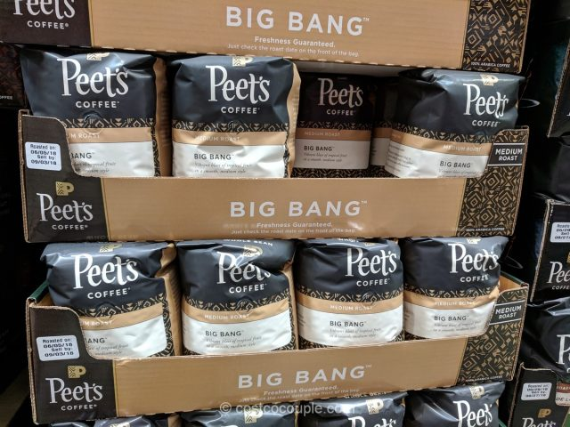 Peets Coffee Big Bang Medium Roast Whole Bean Costco