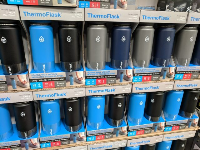 ThermoFlask Stainless Steel Water Bottle Costco