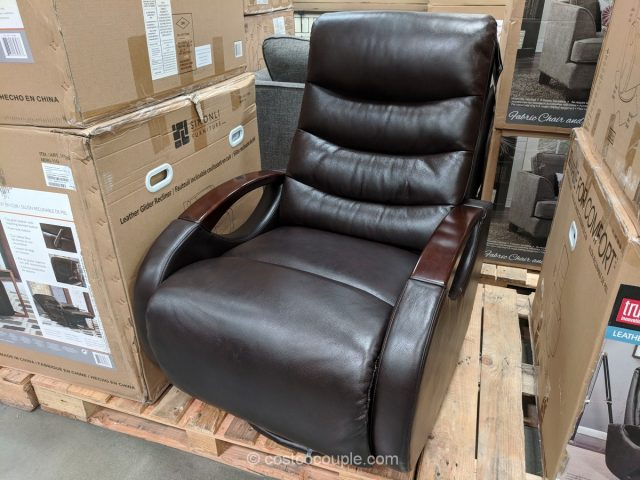 True Innovations Leather Glider Recliner Costco