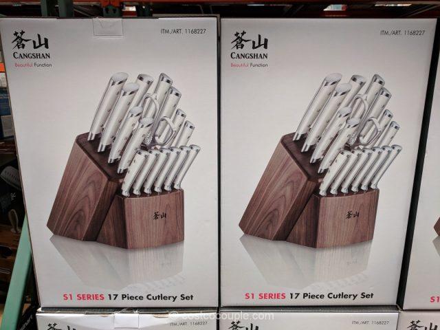 Cangshan German Steel Knife Block Set Costco