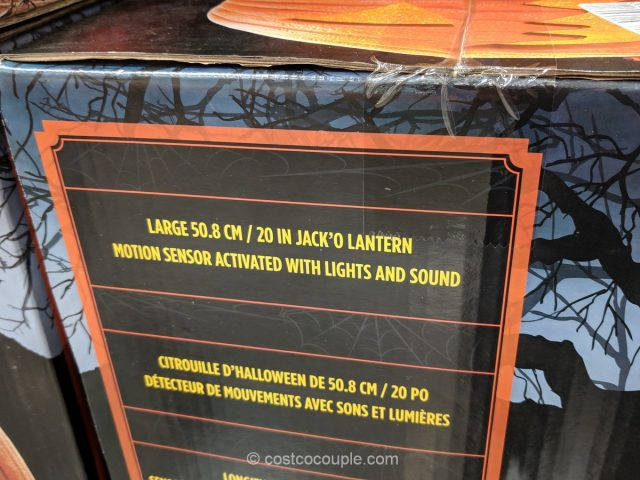 Giant Jack O Lantern Costco