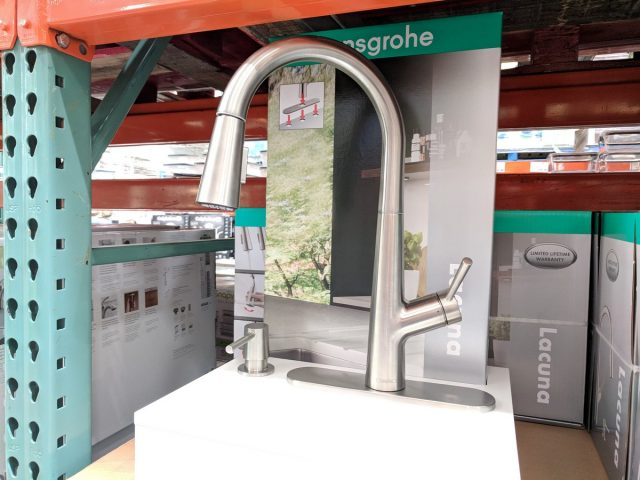 Hansgrohe Lacuna Pull-Down Kitchen Faucet Costco